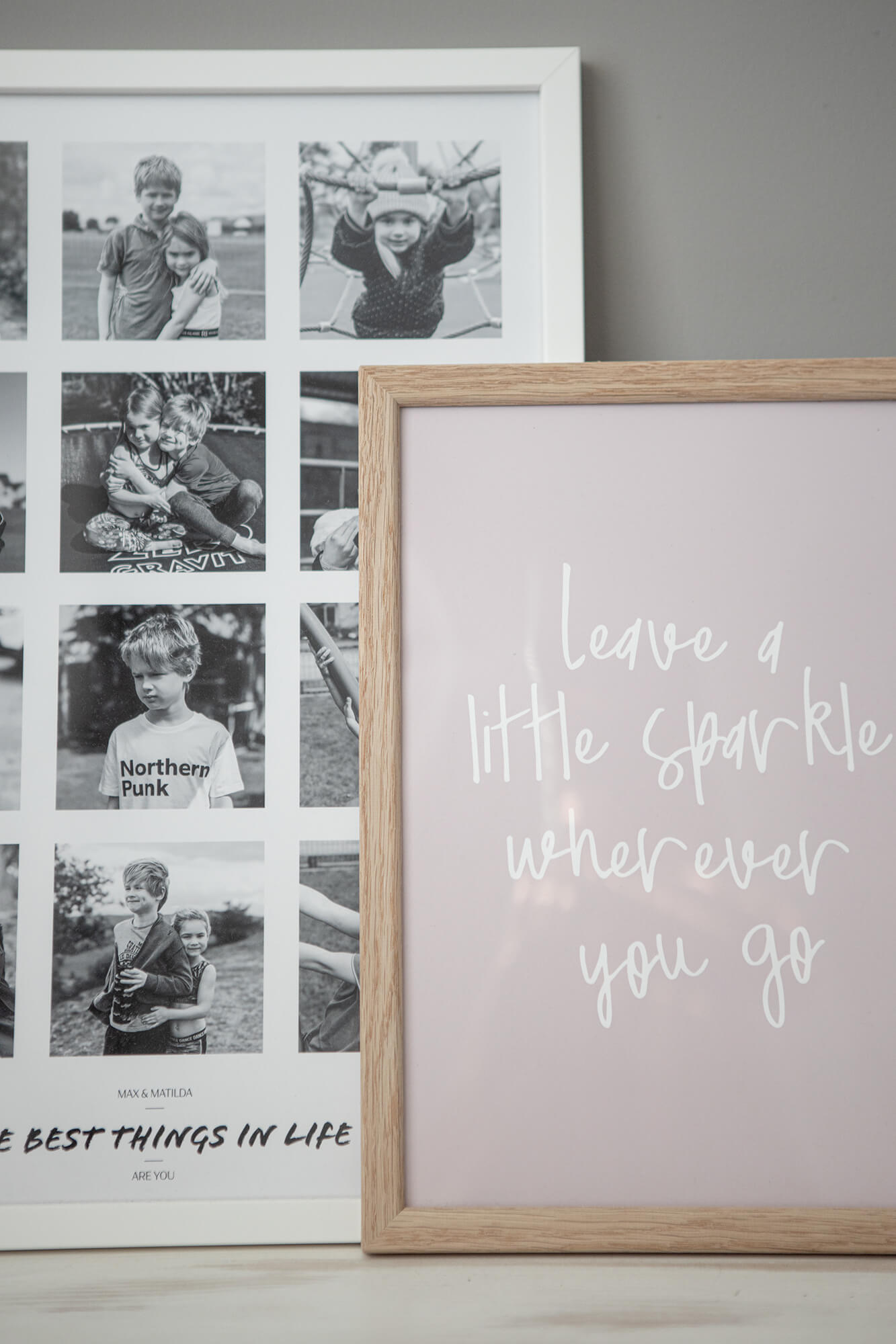 Bespoke Quote Framed Print
